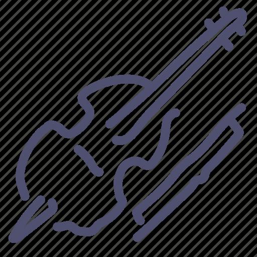 Cello, instrument, music, violin, violincello icon - Download on Iconfinder