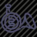 horn, instrument, music, trumpet icon