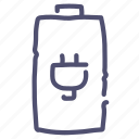 battery, charge, charging, electric, energy icon