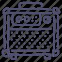 amp, amplifier, guitar, music, sound, speaker icon