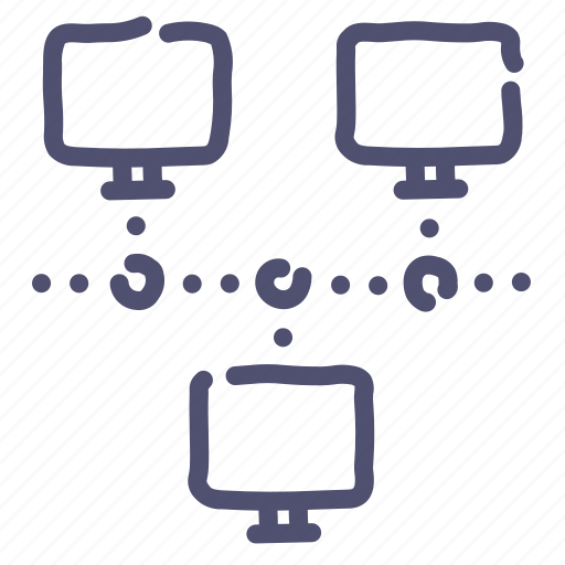 Computer, connect, connection, internet, network, servers icon - Download on Iconfinder