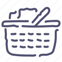 basket, cart, checkout, shop, shopping icon