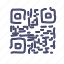 identifier, link, product, qr, qrcode, store icon
