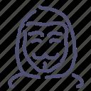 anonym, hacker, user icon
