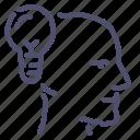 head, idea