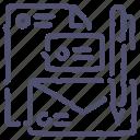 branding, business, document, identity, logo icon