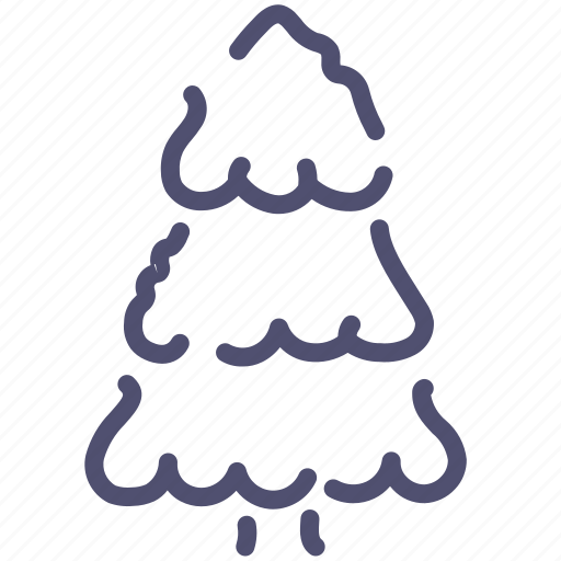 christmas, fir-tree, nature, tree icon