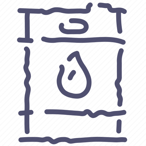 barrel, oil, petroleum, power icon