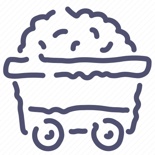 Cart, coal, mine, truck icon - Download on Iconfinder