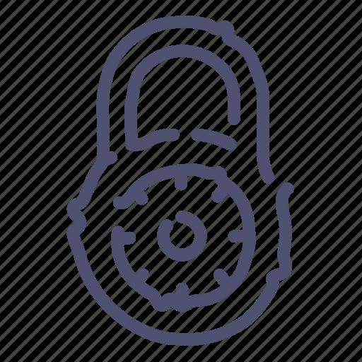 Lock, padlock, password, protection icon - Download on Iconfinder