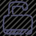 lock, password, protection, unlock icon