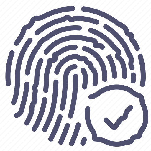 Biometric, fingerprint, scan, touch icon - Download on Iconfinder