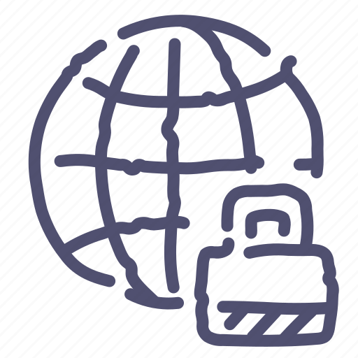 Internet, lock, network, web icon - Download on Iconfinder