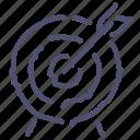 darts, goal, presentation, target icon