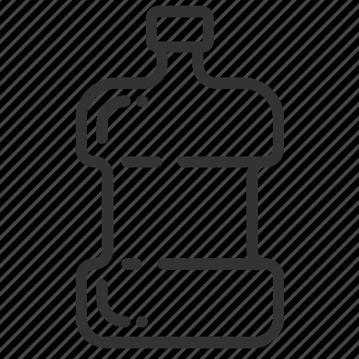 bottle, liter, litre, measurement, metric, unit, volume icon