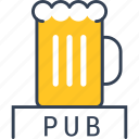 alcohol, beer, kingdom, pub, united icon