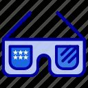 glasses, imerican, sunglasses, usa icon
