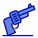 american, gun, hand, weapon icon