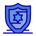american, protection, shield icon