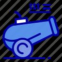 cannon, gun, howitzer, mortar