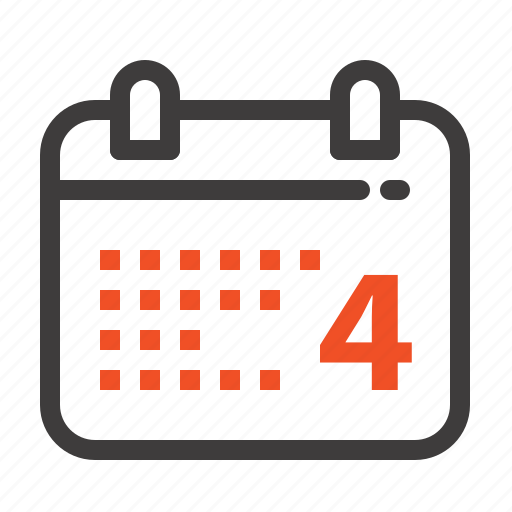 american, calender, date, day icon