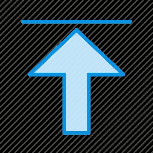Upload, arrow, uploading icon - Download on Iconfinder