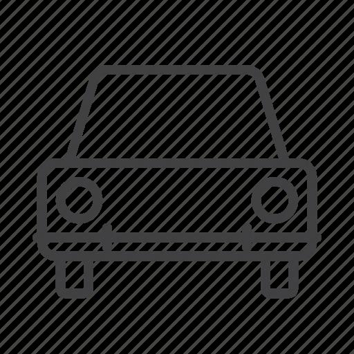 automobile, car, vehicle icon