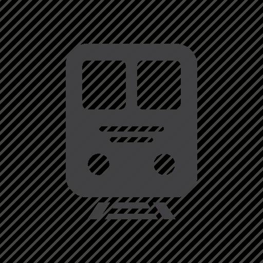 train, transport icon