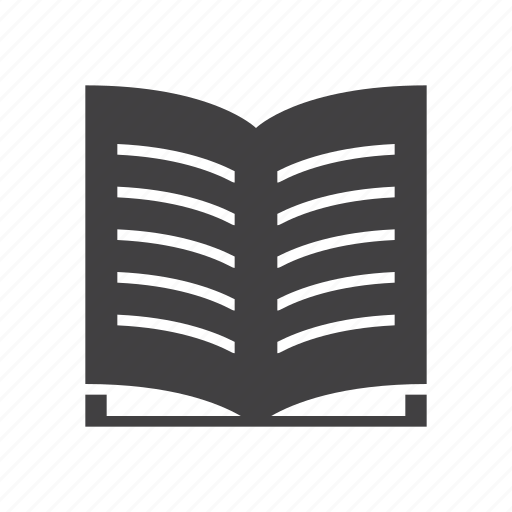 book, library, manual icon
