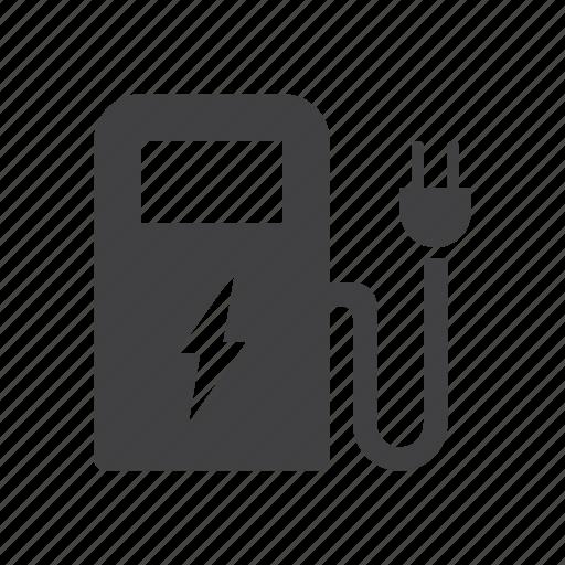 Electric, car, station, ev icon - Download on Iconfinder