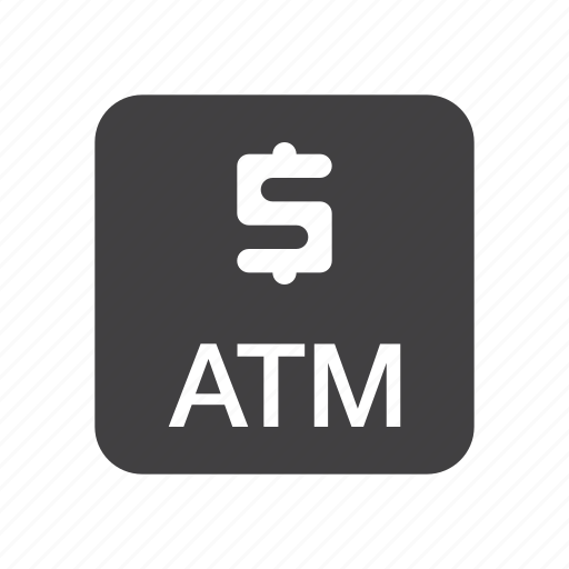 atm, cashing, machine icon