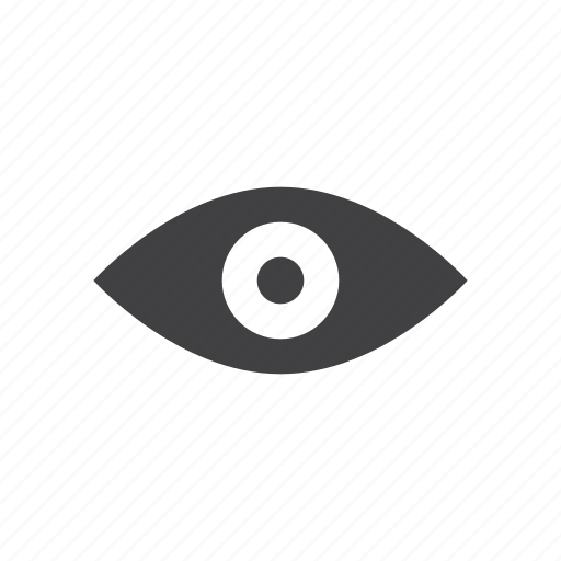 eye, vision, watch icon