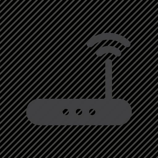 internet, modem, router, wifi icon