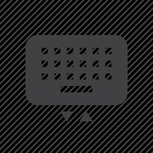 key, keyboard, pad icon