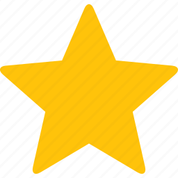 favorite, gold, premium, rate, rating, star, yellow icon