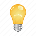 bulb, electric, idea, light, lightbulb icon