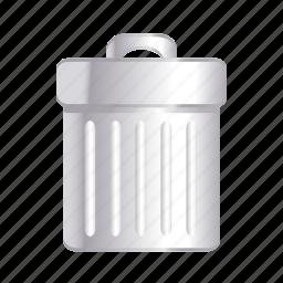 cancel, delete, garbage, remove, trash icon