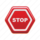 design, road, shape, sign, stop icon