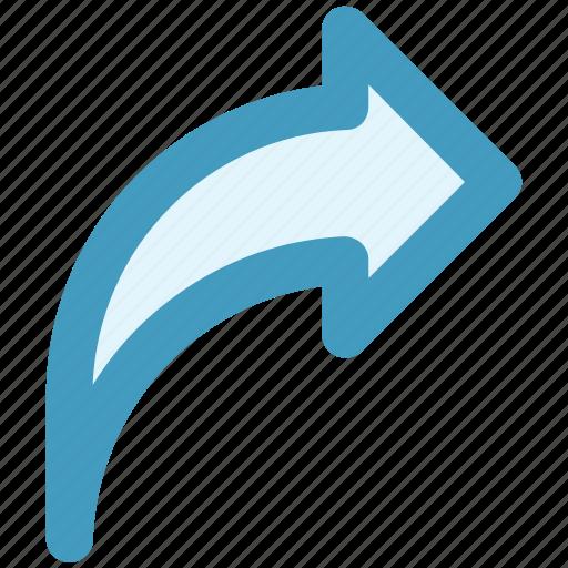 arrow, back, direction, right, right arrow icon