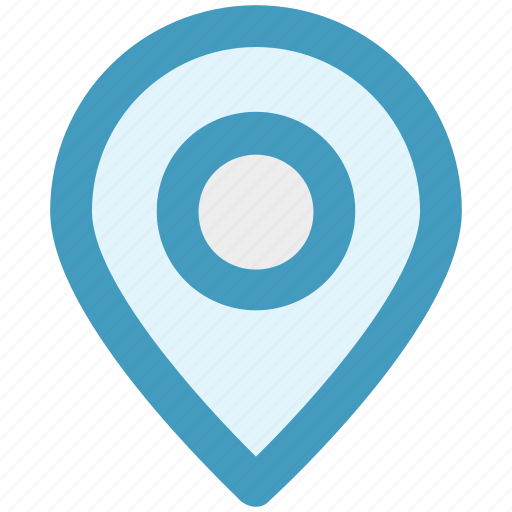 location, map, pin, sticky, world location icon