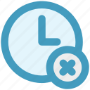 alarm, circle, clock, cross, flag, hours, watch icon