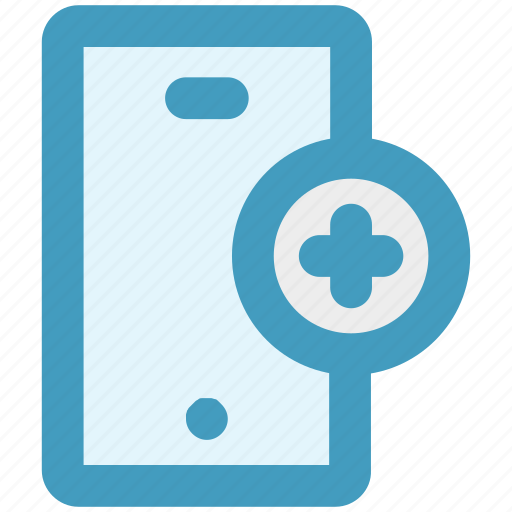 cell phone, iphone, mobile, phone, plus, smart phone icon