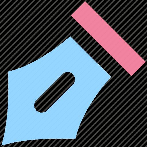Edit, nib, nib pen, pen, pen nib, writing icon - Download on Iconfinder