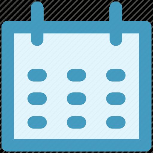 agenda, appointment, calendar, date, day, schedule icon