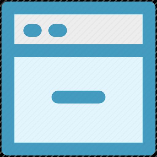link, minus, page, web, web page, web sites icon