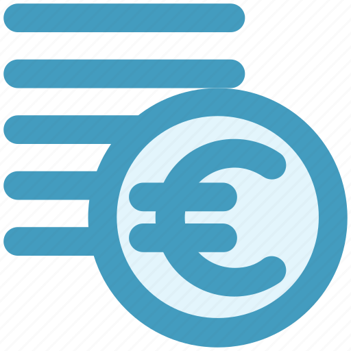 coins, currency, euro, euro coins, money icon