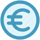 coin, currency, euro, euro coin, money icon
