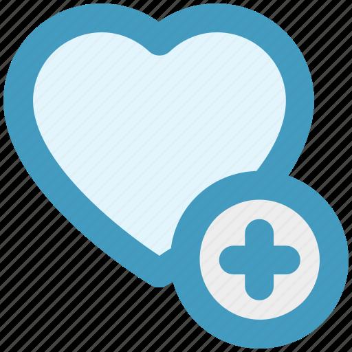 add, favorite, heart, like, love, romantic icon