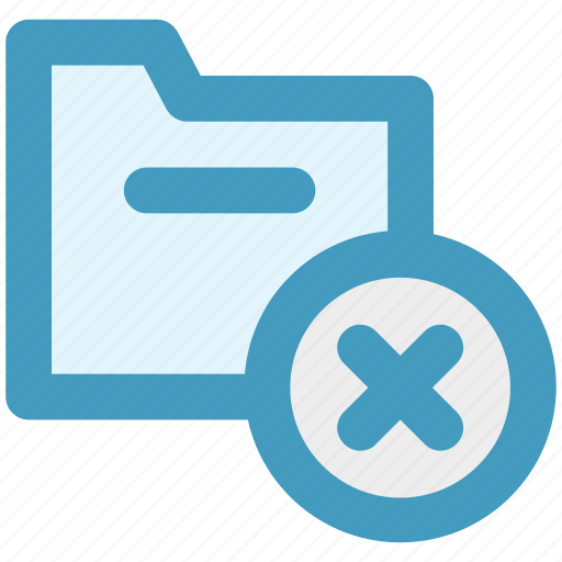 archive, computer folder, cross, file folder, folder, saving folder icon