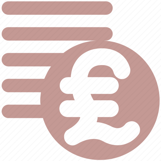 coins, currency, money, pound, pound coins icon